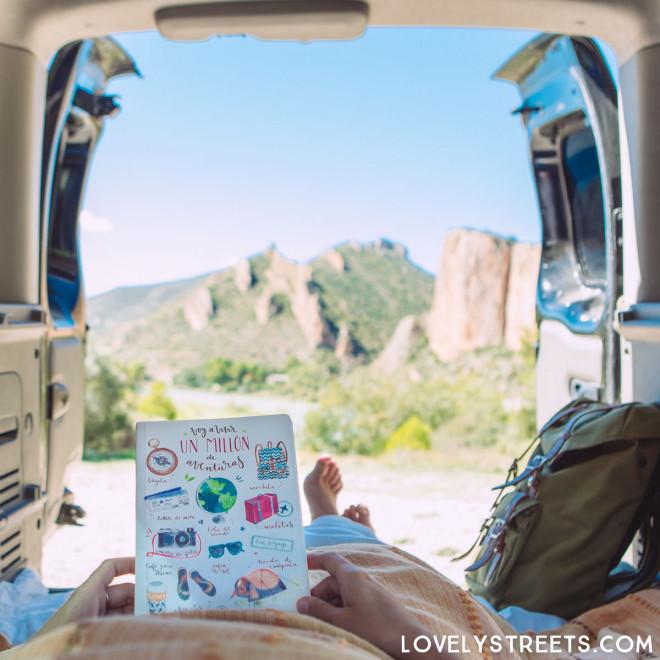Quaderno Lovely Streets - Hoy voy a vivir un millón de aventuras