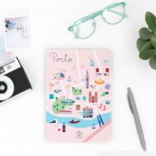 Libreta con ilustraciones de Porto