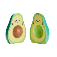 Salt and pepper shakers - Avocado