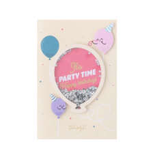 Birthday card - It's party time