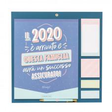 Calendario famiglia - Il 2020 è arrivato e questa famiglia avrà un successo assicurato!