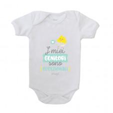 Body per neonato - I miei genitori sono eccezionali