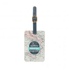 Etichetta per il bagaglio - La tua avventura migliore ti aspetta