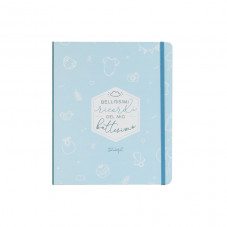 Set scrapbooking album battesimo - Blu
