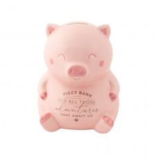 Salvadanaio maialino - Piggy bank for all those adventures that await us