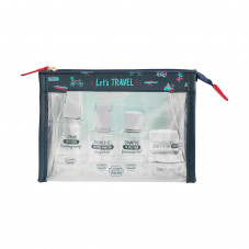 Kit contenitori da viaggio - Let's travel