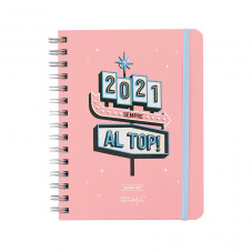 Agenda sketch 2021 Vista settimanale - Sempre al top!