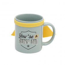 Mug with cape - You're a super dad