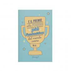 Biglietto a fisarmonica - E il premio alla persona più fantastica…