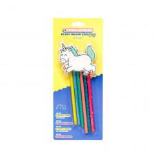 6 lápices con goma de borrar para no dejar de soñar - Unicornio