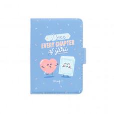 "Cover per e-book da 6"" - I love every chapter of you"