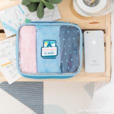 set organizer per valigia