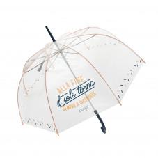 Ombrello grande trasparente  - Alla fine il sole torna sempre a splendere (IT)