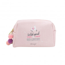 Vanity bag Llama Collection - Wild spirit & red