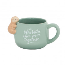 Tazza bradipo Slow Collection - Life is better when we're together