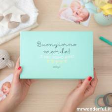 Album bebè - Buongiorno mondo! Il mio primo anno (IT)