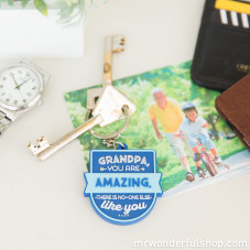 Key-ring - Grandpa, you are amazing, there is no-one else like you (ENG)