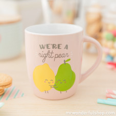 "Tazza ""We're a right pear"" (ENG)"