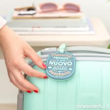 Etichetta per il bagaglio - Prossima fermata: Il mio nuovo posto preferito (IT)