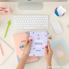Agenda Annuale piccola 2018 Settimanale - Il meglio inizia oggi (IT)