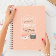 Quaderno Grande - Questa giornata sushita allegria (IT)
