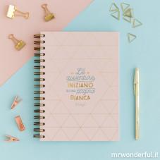 Quaderno - Le avventure iniziano su una pagina bianca (IT)