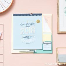 Calendario famiglia 2018 – Cara famiglia, questo 2018 sarà un successo (IT)