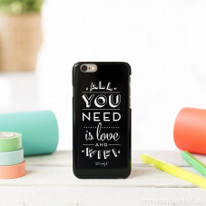 Cover per iPhone 6 - All you need is love and Wifi