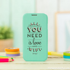 Custodia mint per Samsung Galaxy S4 - All you need is love and wifi