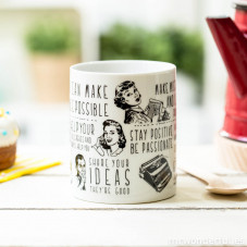 """Tazza """"You can make"""" (ENG)"""