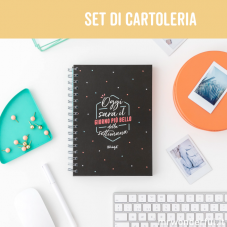 Set con l'indispensabile per mettercela tutta
