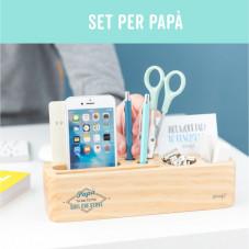 Set regalo per papà super organizzati