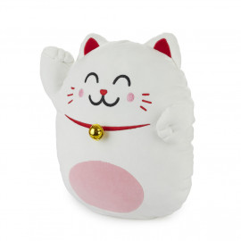 Cuscino gatto della fortuna Maneki Neko