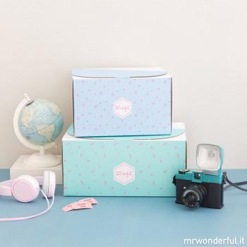Cofanetto regalo da personalizzare per viaggi