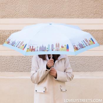 Ombrello piccolo Lovely Streets - Barcelona (ENG)