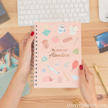 Planner Lovely Streets - My plans and adventures (ENG)