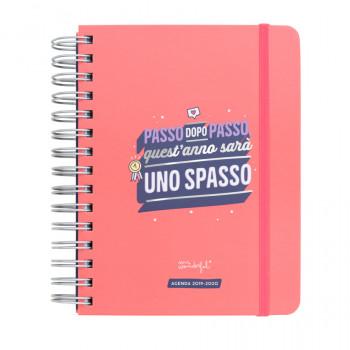Agenda sketch 2019-2020 Giornaliera - Passo dopo passo, quest'anno sarà uno spasso