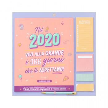 Calendario da muro 2020 - Vivi alla grande i 366 giorni del 2020!