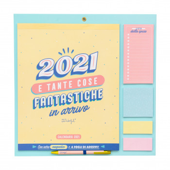 Calendario da muro 2021 Mr.Wonderful