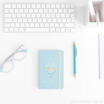 Set di quaderno + penna - Appunti, idee e note di una supermaestra (IT)