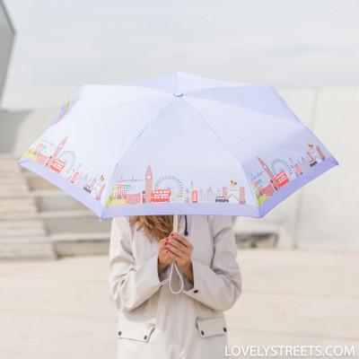 Ombrello piccolo Lovely Streets - London (ENG)