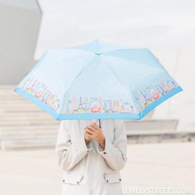 Ombrello piccolo Lovely Streets - Multicittà (ENG)
