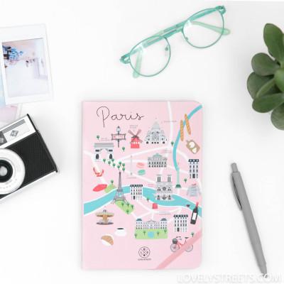 Quaderno Lovely Streets - Paris