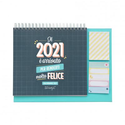 Calendario da tavolo - Il 2021 è arrivato