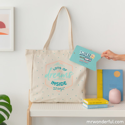 Tote bag - Lots of dreams inside