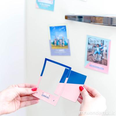 Cornice magnetica per le foto più belle (IT)