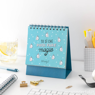 Planning da tavolo - Tu sì che puoi fare magie (IT)