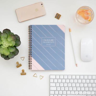 Planner settimanale a quaderno - Cose che ho detto che avrei fatto (IT)