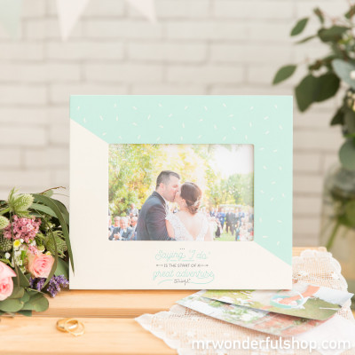 Portafoto - Saying 'I do' is the start of a great adventure (ENG)