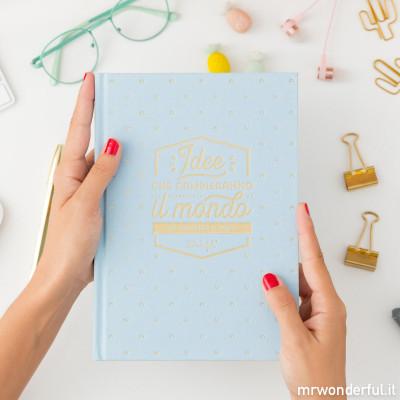 Quaderno – Idee che cambieranno il mondo (IT)